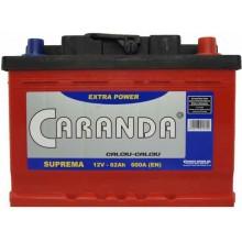 Baterii auto Caranda Suprema 12V 62Ah 600Aen