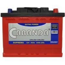 Baterii auto Caranda Suprema 12V 66Ah 640Aen