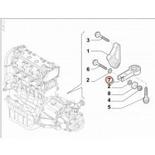 Tampon central cutie viteze Fiat 51910856