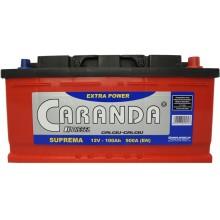 Baterii auto Caranda Suprema 12V 100Ah 900Aen