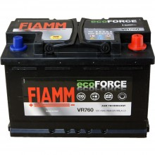 Baterii auto Fiamm ecoForce AGM 12V 70AH 760Aen