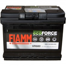 Baterii auto Fiamm ecoForce AGM 12V 60AH 680Aen