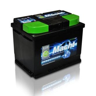 Baterii auto Macht AGM 12V 60AH 680Aen