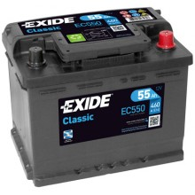 Baterii auto Exide Classic EC550 12V 55AH 460Aen