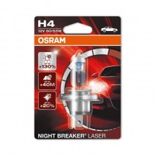Bec H4 12V 60/55W P43t OSRAM NIGHT BREAKER LASER +130% putere iluminare