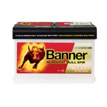 Acumulator auto Banner Running Bull EFB 570 00 12V 70AH 660Aen