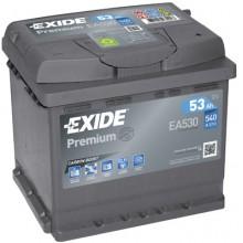 Baterii auto Exide Premium EA530 12V 53AH 540Aen