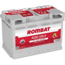 Baterii auto Rombat AGM VRLA 12V 70AH 720Aen