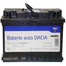 Baterii auto Dacia 12V 60AH 510Aen 6001547710