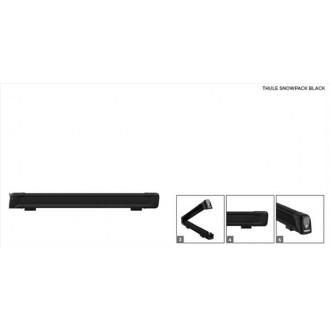 Suport pentru ski şi snowboard Thule - SnowPack Black 7324 - 6 perechi 75 cm