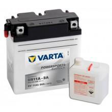 Baterie moto Varta Powersports Freshpack 6V 11AH 6N11A-3A, 012014008 A514
