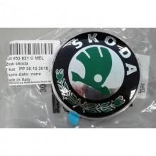 Emblema capota fata - spate originala SKODA 1U0853621CMEL