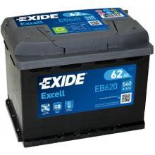 Baterii auto Exide Excell EB620 12V 62AH 540Aen