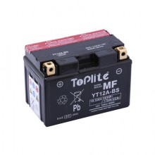 Baterie moto Toplite Yuasa 12V 10AH YT12A-BS