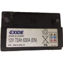 Baterii auto Suzuki Start-Stop 12V 72AH 630Aen 33610-86L10