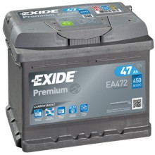 Baterii auto Exide Premium EA472 12V 47AH 450Aen