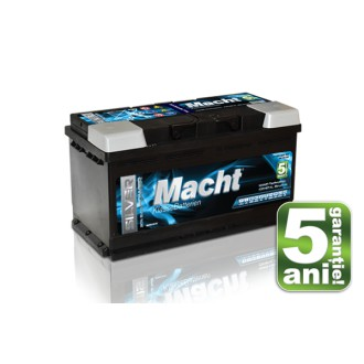 Baterii auto Macht Silver Power 12V 90AH 850Aen 5 ani garantie