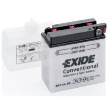 Baterie moto Exide Conventional 6V 11AH 95Aen 6N11A-1B