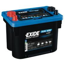 Exide Dual Agm EP450 12V 50AH 750Aen 450W