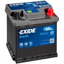 Baterii auto Exide Excell EB440 12V 44AH 400Aen