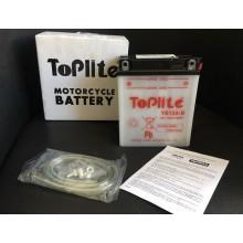 Baterie moto Toplite Yuasa YB12A-B 12V 12.6AH
