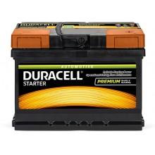 Baterii auto Duracell Starter 12V 60AH 480Aen DS 60