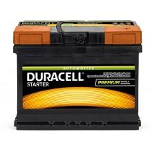 Baterii auto Duracell Starter 12V 62AH 510Aen DS 62