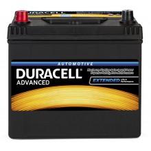 Baterii auto Duracell Advanced 12V 60AH 510Aen DA 60L asia borna inversa