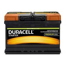 Baterii auto Duracell Starter 12V 72AH 650Aen DS 72