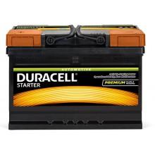 Baterii auto Duracell Starter 12V 72AH 650Aen DS 72L borna inversa