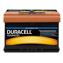 Baterii auto Duracell Advanced 12V 77AH 680Aen DA 77T