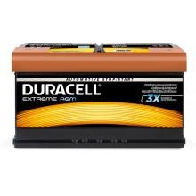 Baterii auto Duracell Extreme AGM 12V 92AH 850Aen DE 92 AGM
