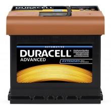 Baterii auto Duracell Advanced 12V 50AH 450Aen DA 50