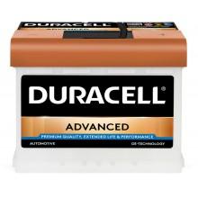 Baterii auto Duracell Advanced 12V 63AH 620Aen DA 63H