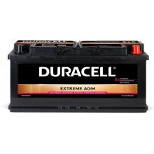 Baterii auto Duracell Extreme AGM 12V 105AH 950Aen DE 105 AGM