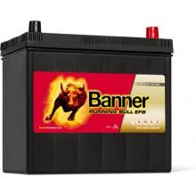Baterii auto Banner Running Bull EFB 555 15 12V 55AH 460Aen asia borna normala