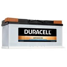 Baterii auto Duracell Advanced 12V 110Ah 900Aen DA110