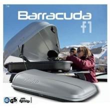 Cutie portbagaj Farad Barracuda N1 550litri gri deschidere pe ambele parti