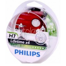 Bec H7 LongLife EcoVision 12V 55W cutie 2 buc. PHILIPS 12972LLECOS2