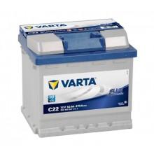 Acumulator auto Varta Blue Dynamic C22 12V 52AH 470Aen 552400047 3132